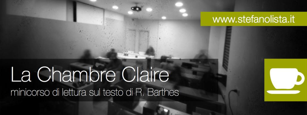 La chambre claire mini corso di lettura sul testo di r for Chambre claire roland barthes